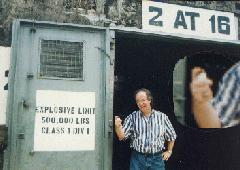 Dave Flicks His Bic in a Subic Naval Base Bomb Storage Bunker.jpg