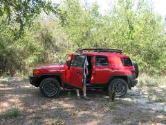 FJ Cruiser At The Ranch.JPG