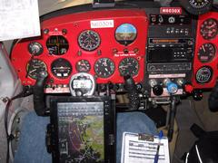 Current Instrument Panel Left at Night.JPG