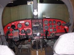Old Cockpit - Instrument Panel View From Back.JPG